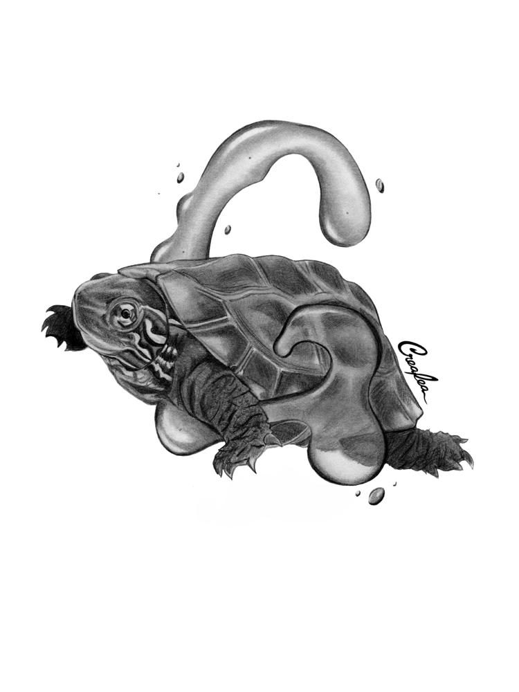 Turtle Godzilla